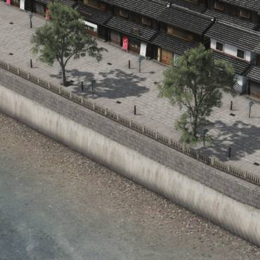 Cities:Skylinesで水辺を作るときに便利なアセットの紹介