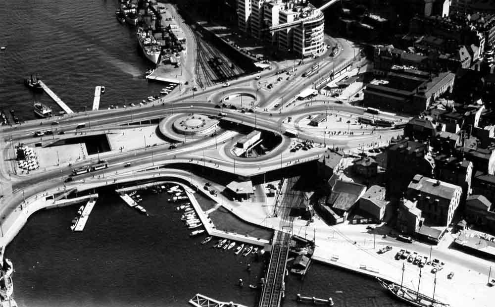 1930年代のクローバー型立体交差
