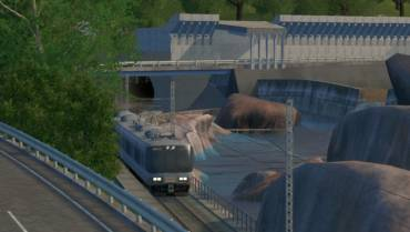 CSLで鉄道のダイヤグラムを組む