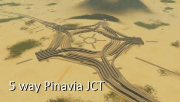 5分岐 Pinavia 型 junction の作成