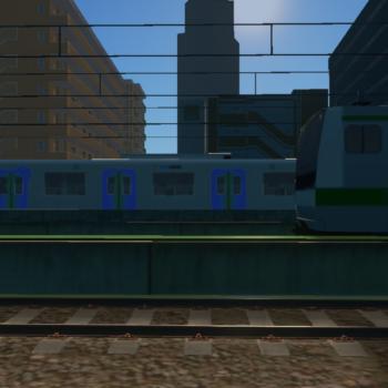 通勤中の風景